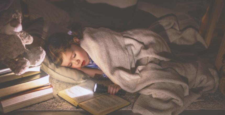 Wirbelwind-Kinder und Schlaf