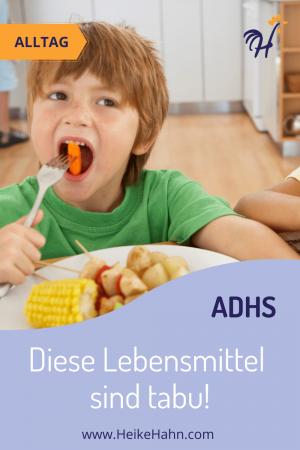 ADHS und Ernährung - Diese Lebensmittel sollten gemieden werden