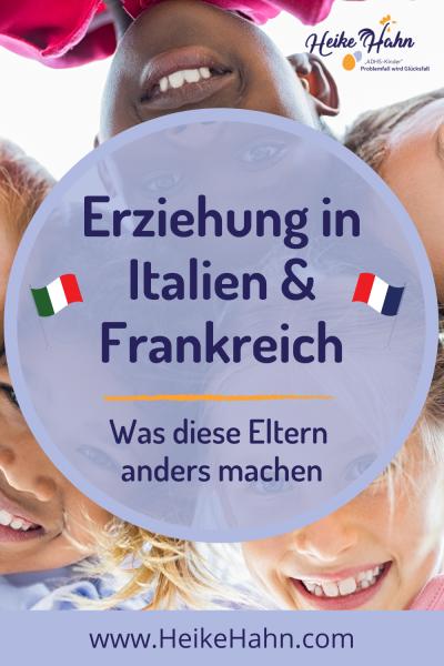 Erziehung in Frankreich und Italien