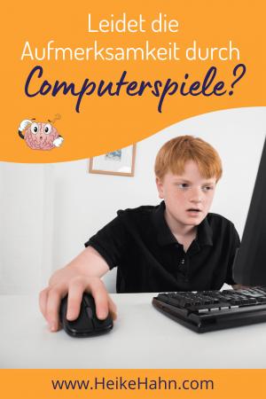 Leidet die Aufmerksamkeit durch Computerspiele?